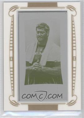 2009 Topps Mayo - [Base] - Mini Framed Printing Plate Yellow #118 - Jeremy Shockey /1