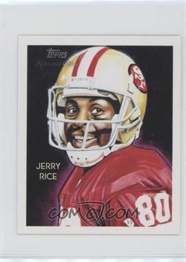 2009 Topps National Chicle - [Base] - Mini National Chicle Back #C152 - Jerry Rice