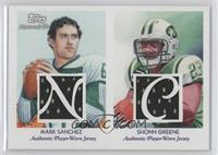 Mark Sanchez, Shonn Greene /25