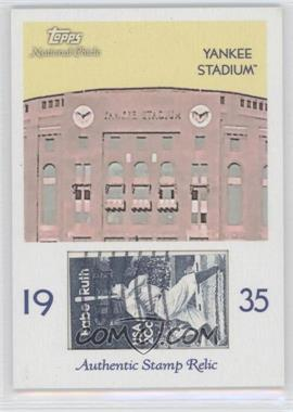 2009 Topps National Chicle - Era Icons Stamp Relics #ER-YS - Yankee Stadium
