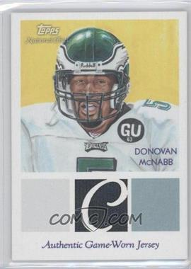 2009 Topps National Chicle - Relics #NCR-DM - Donovan McNabb