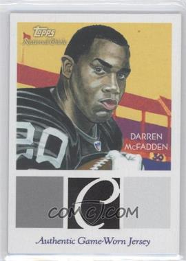2009 Topps National Chicle - Relics #NCR-DMC - Darren McFadden