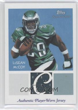 2009 Topps National Chicle - Relics #NCR-LM - LeSean McCoy