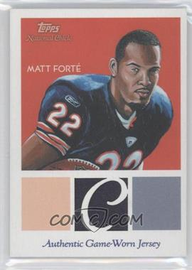 2009 Topps National Chicle - Relics #NCR-MF - Matt Forte