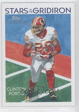2009 Topps National Chicle - Stars of the Gridiron #SG-7 - Clinton Portis