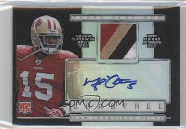 2009 Topps Platinum - Autographed Refractor Patch - Black #ARP-MC - Michael Crabtree /25
