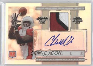2009 Topps Platinum - Autographed Refractor Patch #ARP-BW - Chris Wells /450