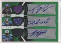 Percy Harvin, Hakeem Nicks, Kenny Britt #/9