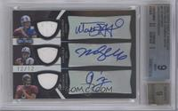 Matthew Stafford, Mark Sanchez, Josh Freeman [BGS 9 MINT] #/12
