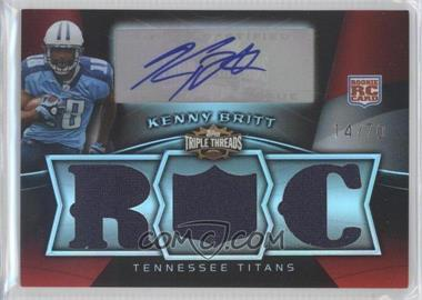 2009 Topps Triple Threads - [Base] #118 - Kenny Britt /70