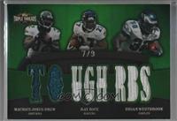 Maurice Jones-Drew, Ray Rice, Brian Westbrook [Noted] #/9