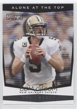 2009 Topps Unique - Alone at the Top #AT2 - Drew Brees
