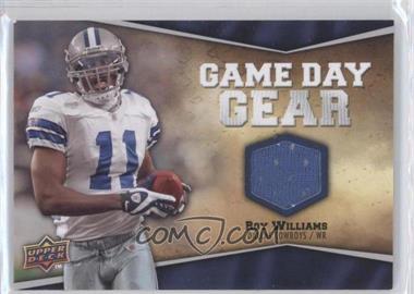 2009 Upper Deck - Game Day Gear #NFL-RW - Roy Williams