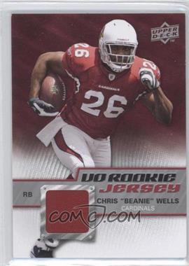 2009 Upper Deck - UD Rookie Jerseys #RJ-CW - Chris Wells