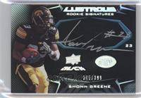 Rookie Signatures - Shonn Greene #/399
