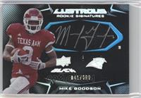 Rookie Signatures - Mike Goodson /399