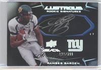 Rookie Signatures - Ramses Barden #/399