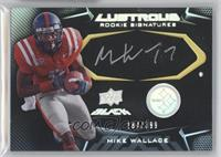 Rookie Signatures - Mike Wallace #/399