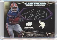 Rookie Signatures - Percy Harvin #/399