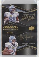 Hakeem Nicks, Brooks Foster #/35