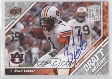 2009 Upper Deck Draft Edition - [Base] - Autographs [Autographed] #131 - Brad Lester