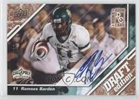 Ramses Barden /50