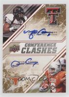 Quan Cosby, Michael Crabtree [Noted] #/50