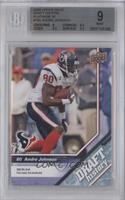 Andre Johnson [BGS 9 MINT] #/10