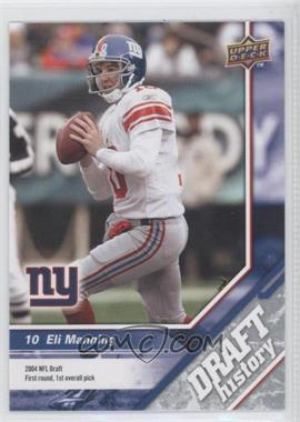 2009 Upper Deck Draft Edition - [Base] #155 - Eli Manning