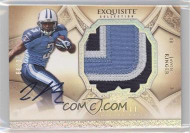 2009 Upper Deck Exquisite Collection - [Base] - Rookie Signature Silver Holofoil [Autographed] #178 - Javon Ringer /99