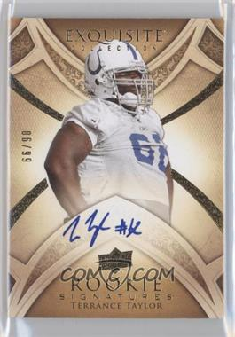 2009 Upper Deck Exquisite Collection - [Base] #112 - Terrance Taylor /99