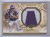 Rookie Signature Patch - Percy Harvin #/225