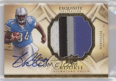2009 Upper Deck Exquisite Collection - [Base] #168 - Brandon Pettigrew /225