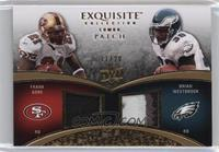 Brian Westbrook, Frank Gore /20