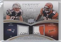 Chad Johnson, Wes Welker #/50