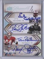 Tom Rathman, Rocky Bleier, Daryl Johnston, Earl Campbell #/15