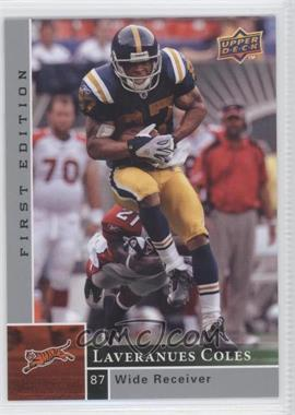 2009 Upper Deck First Edition - [Base] - Silver #33 - Laveranues Coles