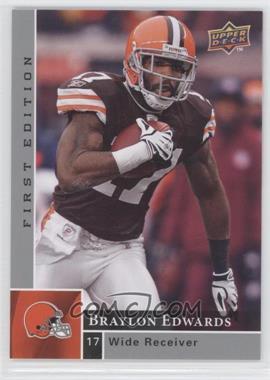 2009 Upper Deck First Edition - [Base] - Silver #38 - Braylon Edwards