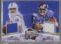 Eli Manning, Peyton Manning /25