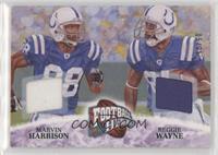 Marvin Harrison, Reggie Wayne #/25