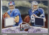 Tony Romo, Eli Manning /25