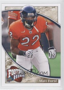 2009 Upper Deck Football Heroes - [Base] #17 - Matt Forte'