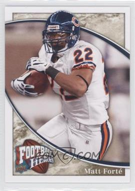 2009 Upper Deck Football Heroes - [Base] #18 - Matt Forte'
