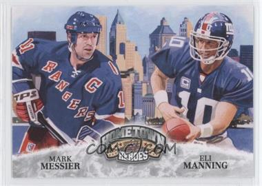 2009 Upper Deck Football Heroes - [Base] #484 - Mark Messier, Eli Manning