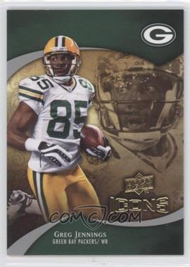 2009 Upper Deck Icons - [Base] #31 - Greg Jennings