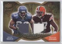 Deion Branch, Braylon Edwards /99