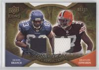 Deion Branch, Braylon Edwards #/99