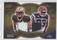 Marques Colston, Lee Evans #/99