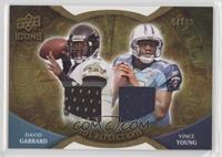 Vince Young, David Garrard #/99