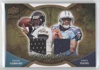 Vince Young, David Garrard /99